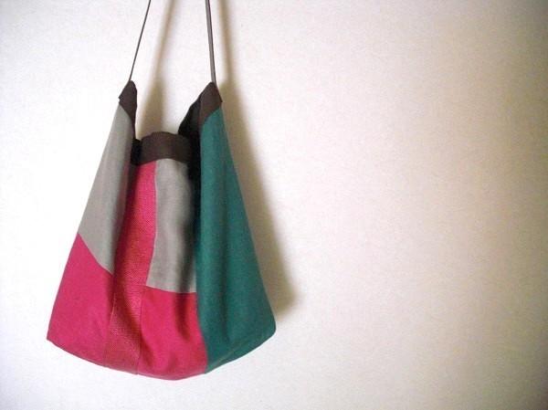itoiro bag (pink&green)