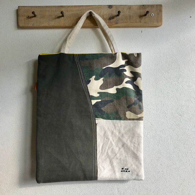 34opus ぺたんこrecyclebag A4