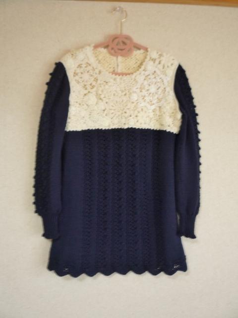 【オーダー作品】 heyuting52様専用ページ  キラキラ雪の結晶セーター