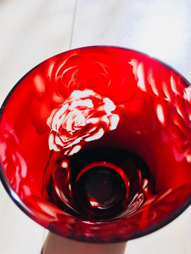 タンブラー・Rose・赤