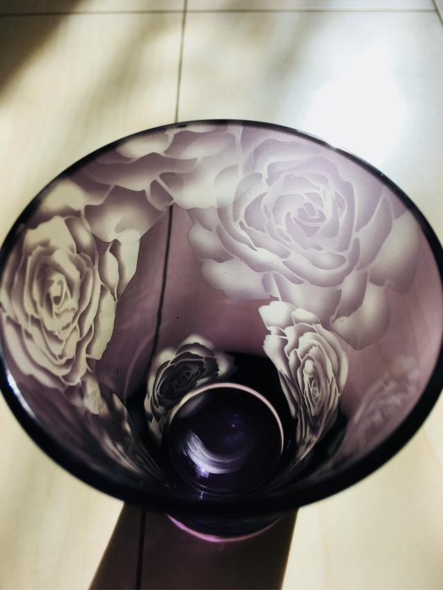 タンブラー・Rose・紫