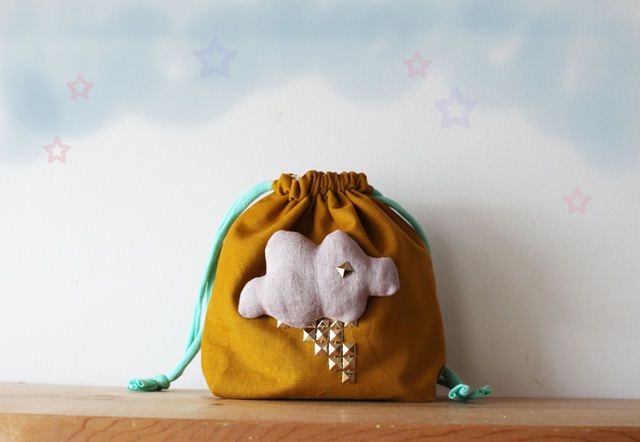 <New!>mini Thunder pouch