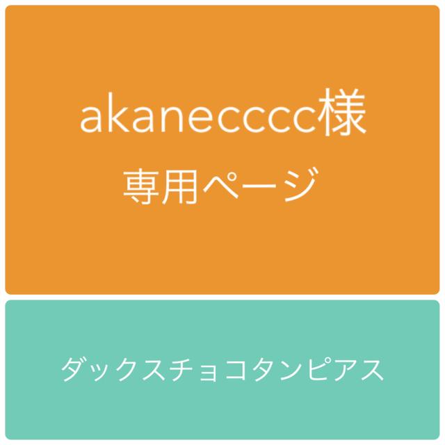 akanecccc様専用ページ ダックスチョコ...