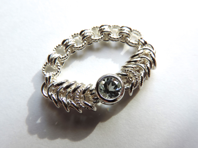 『 Aquarius ( heart ) 』Ring by SV925