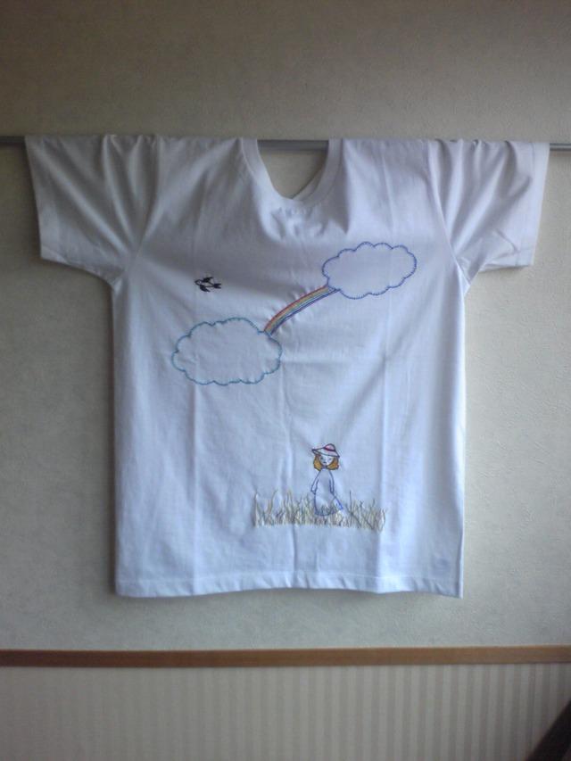刺繍Tシャツ Mサイズ