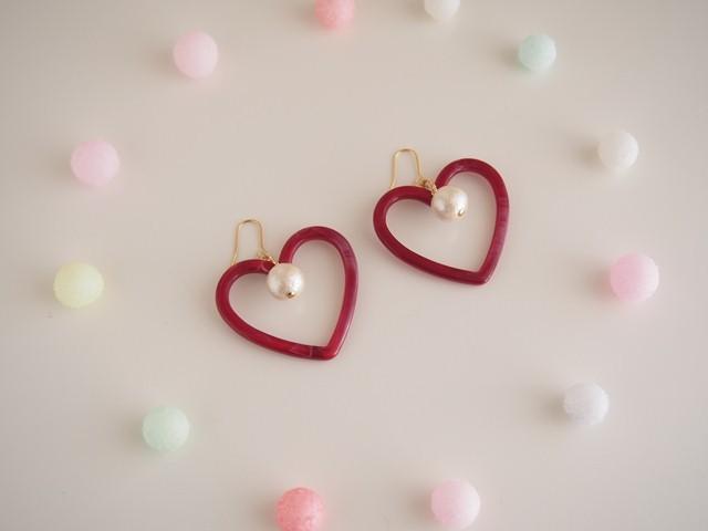 heart ピアス/イヤリング