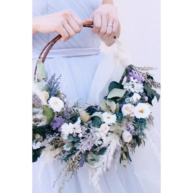 wreath bouquet #109[ブーケ×リース×...