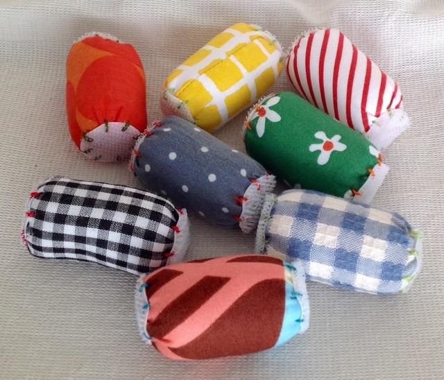 布の玩具(面ファスナー)