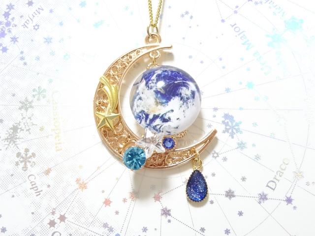 ☆月と地球のネックレス☆