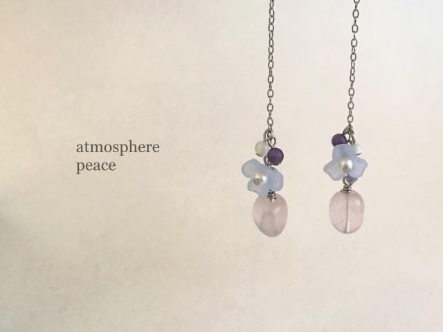 やさしい孤独(clip-on/pierced earrings)