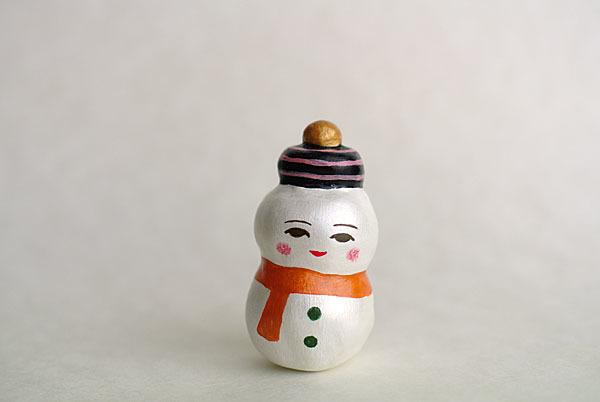 通年の雪だるま人形その1