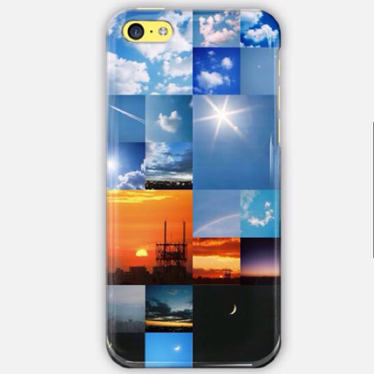 空の写真のiPhoneケース