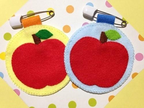 りんごの名札(MIX)