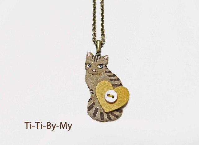 ★送料無料★猫ネックレス