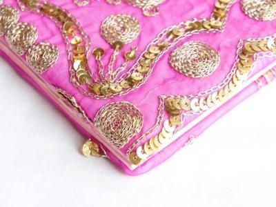 インド古布で作ったフォトブック 1