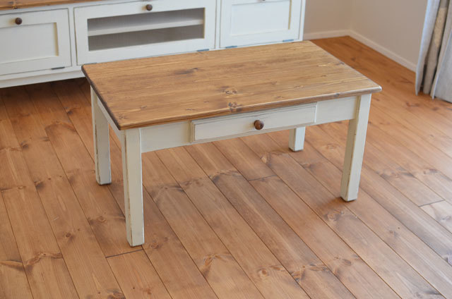 【 Drawer low TABLE w800 】 〜受注生...