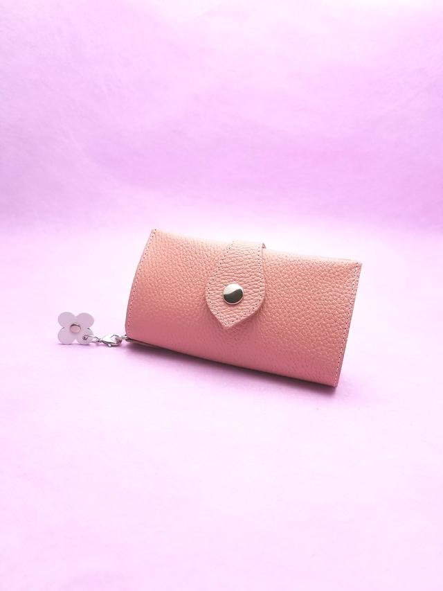 桜色の春財布 | ハンドメイドマ...