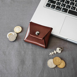 【Sサイズ】Leather Coin Case 本革コインケース 一枚革仕上げ
