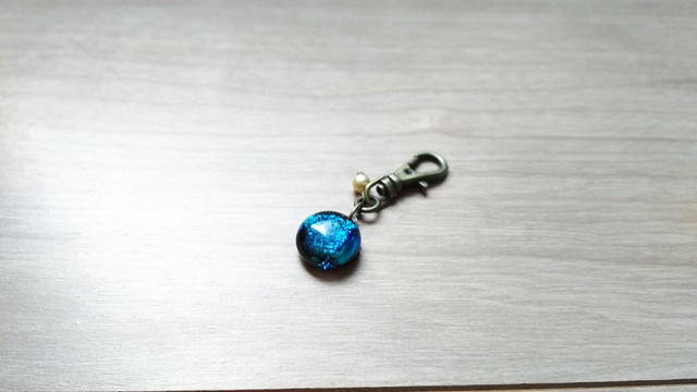 【200】ガラスのキーホルダー