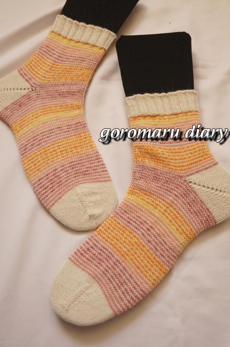 ☆ウォッシャブル☆手編みの靴下