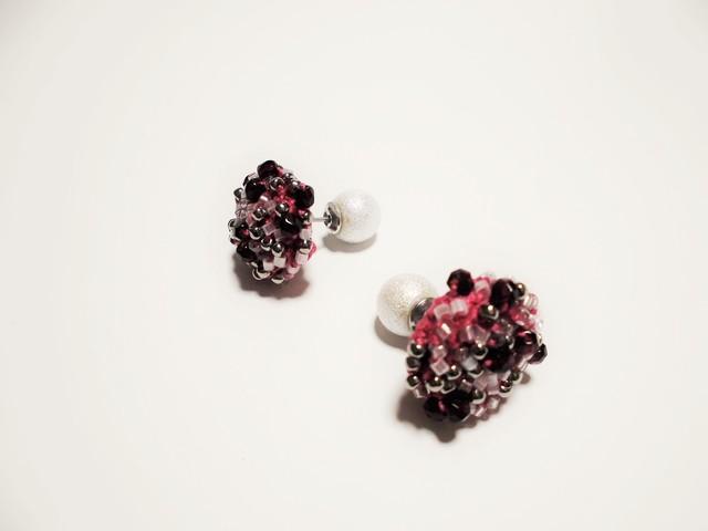 beads crochet pierce 0056