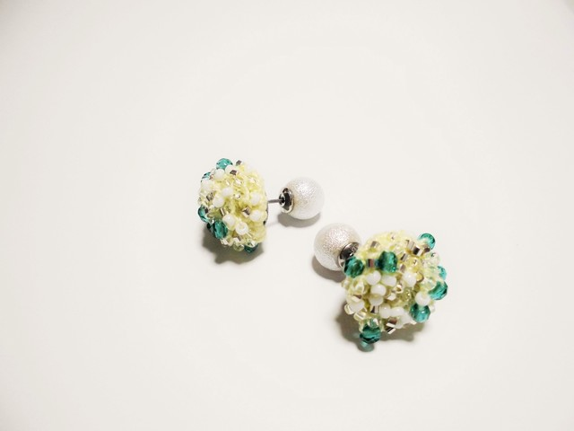 beads crochet pierce 0057