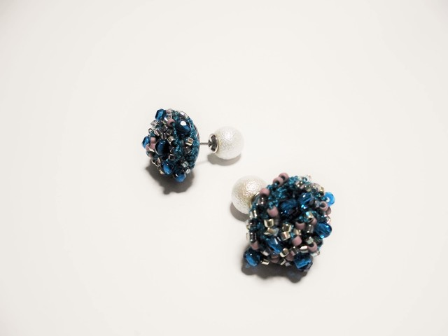 beads crochet pierce 0058