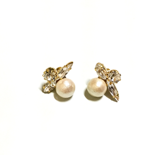 cotton pearl��bijou pierce