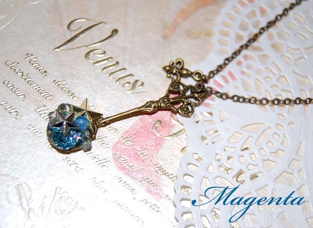 Marchen★ mon trésorペンダント・Aqua star