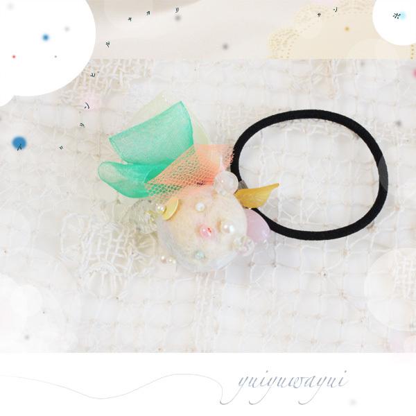 トロリンヒルサガリサンポの髪飾り*(2)
