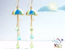 傘ピアス☂UMBRELLA Earrings *3RainDrop*