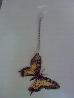 アゲハ蝶のピアス 片耳用