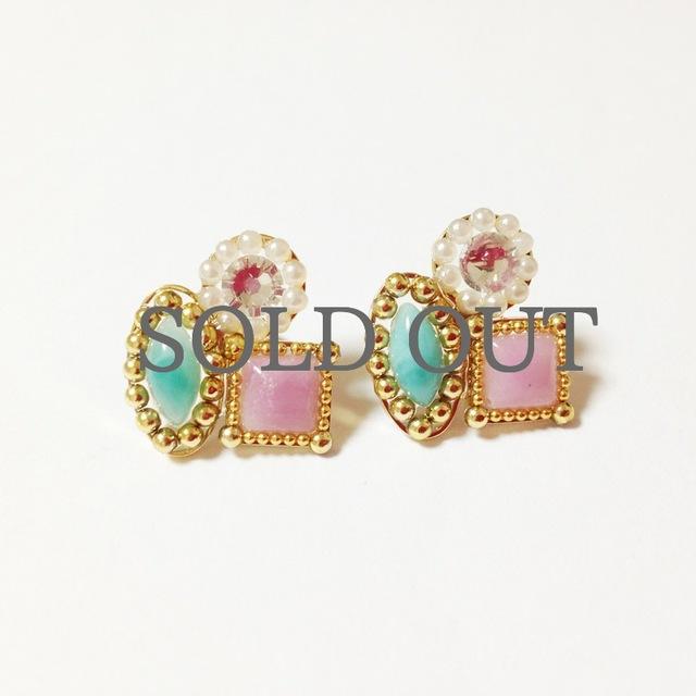 glitter Jewelry Pierce*。+.