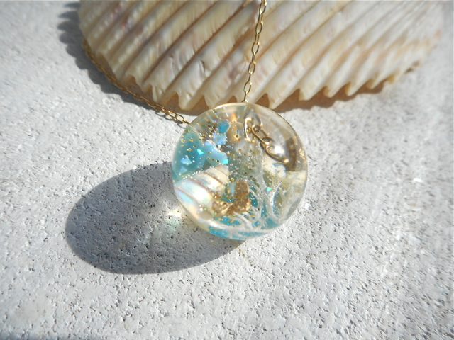 Seascapes Necklace   V  (訳あり)