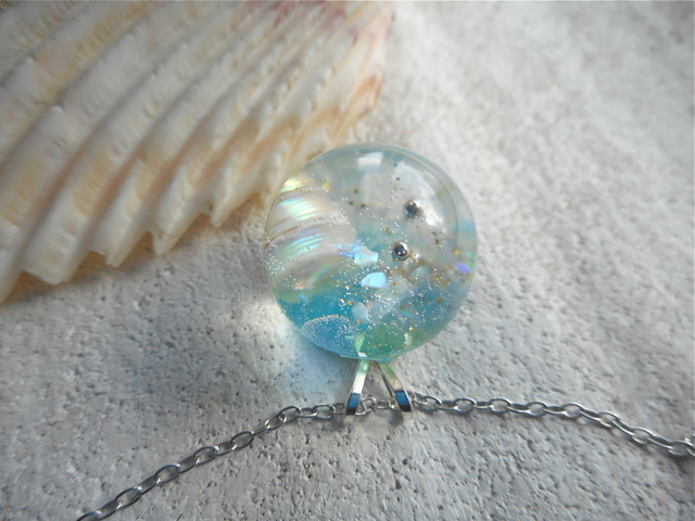 Seascapes Necklace   U (訳あり)