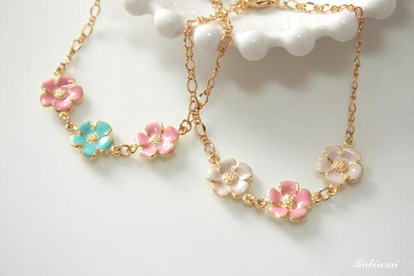 春うらら♪花の三連ブレス