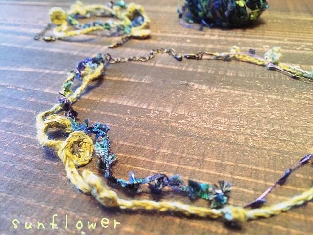 ブレスレット〜sunflower.