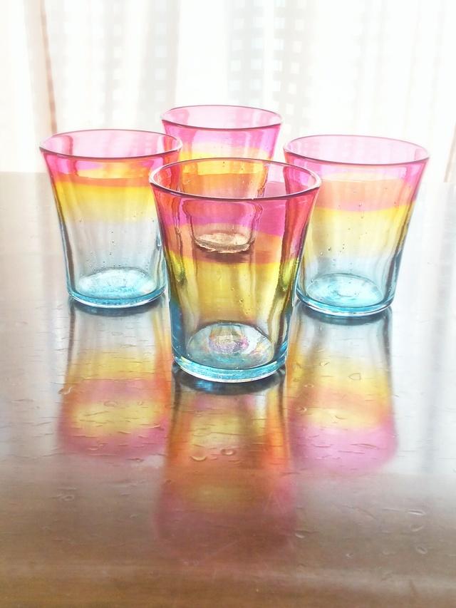 夕陽グラス *在庫、納期確認後ご注文ください