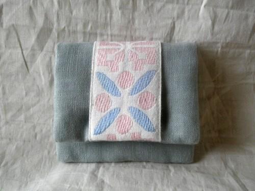 mini card pouch (水色)