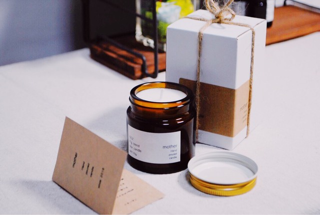 『002 Fig blend(いちじくの香り)』soy candle
