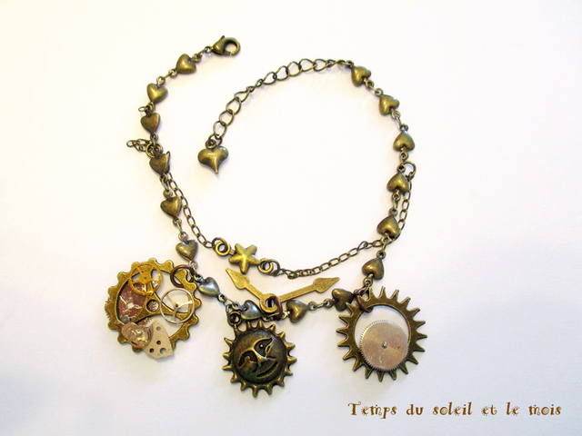 【送料無料&SALE】「太陽と星の時間」のブレスレット
