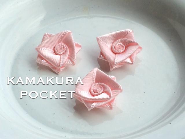 アップリケ(モダンな薔薇):5個<28/p>