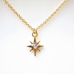 Lucky Star Charm Necklace(Gold or Silver)