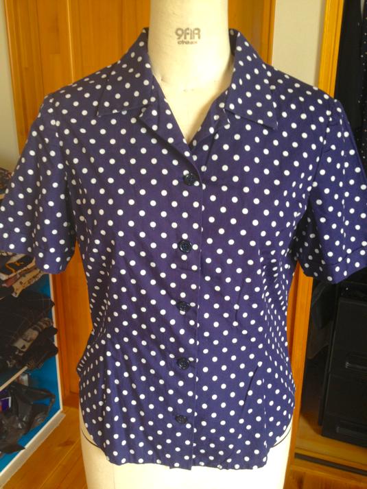 ~dot~ショールカラーシャツ半袖