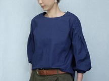 4lines blouse/navy
