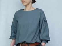 4lines blouse/green