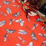 Red chic insects - Wrapping paper