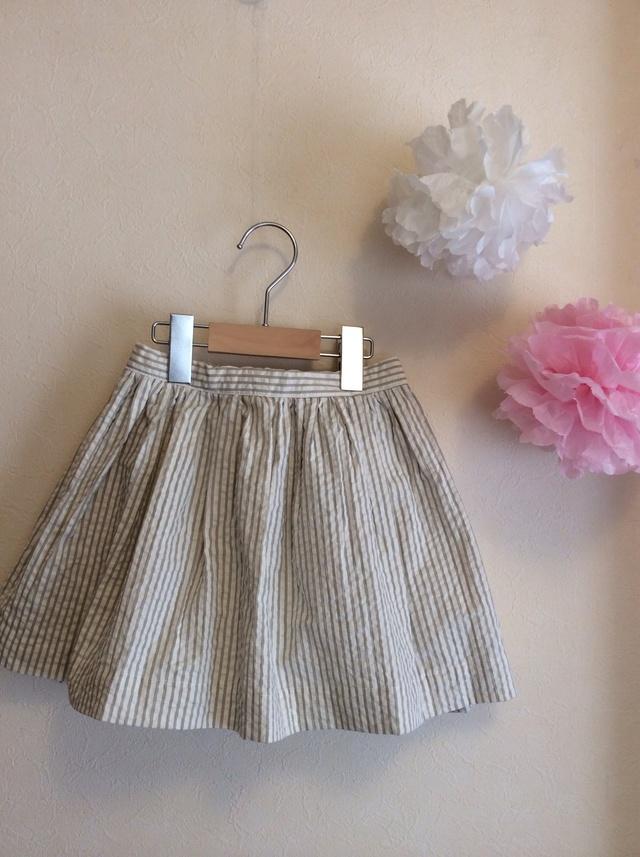 Spring has comeギャザーたっぷりふんわりスカート