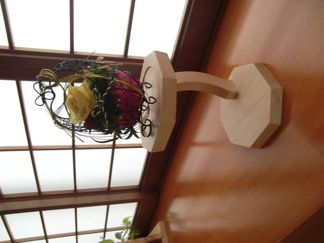 八角形の花台