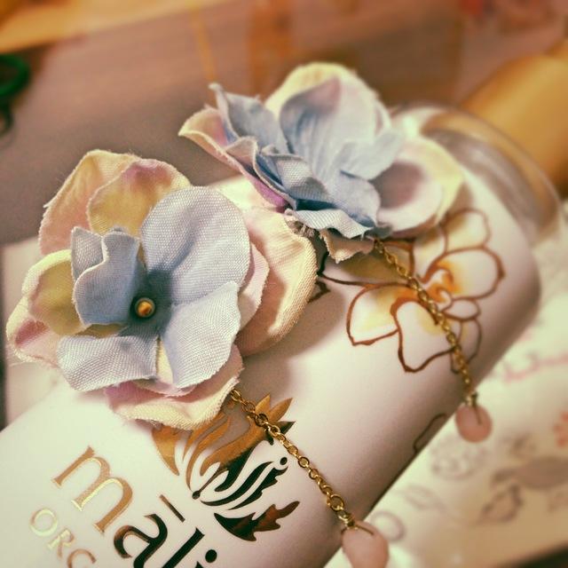 紫陽花のピアス